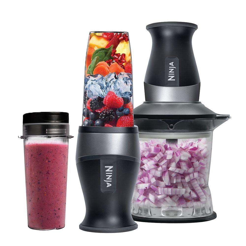Amazon.com: Nutri Ninja 2 In 1 700 Watt Blender/Processor | QB3005  (Certified Refurbished): Kitchen U0026 Dining