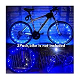 Yacoto LED Bicycle Wheel Light, Waterproof