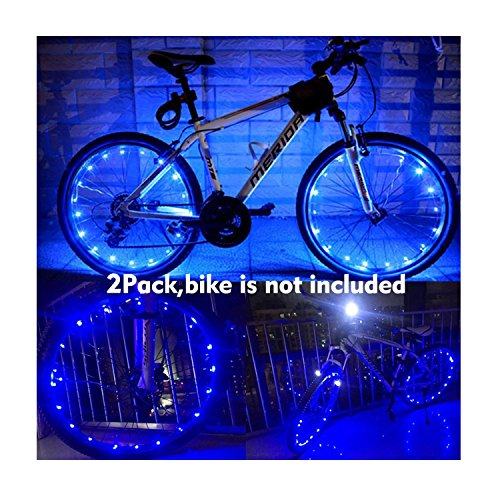 LED Bicycle Wheel Light, Waterproof, 2 pack