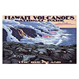 Area Rugs from DiaNoche by Lantern Press - Hawaii Volcanos