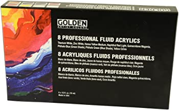 Golden Fluid Acrylic Set