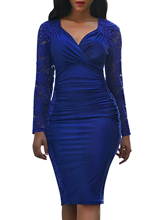 Review Domy Women's Formal Bodycon