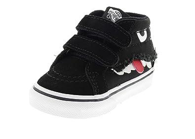 f2c658e2529a00 Vans Chaussures Enfants - SK8-MID Reissue V Monster Face Black ...