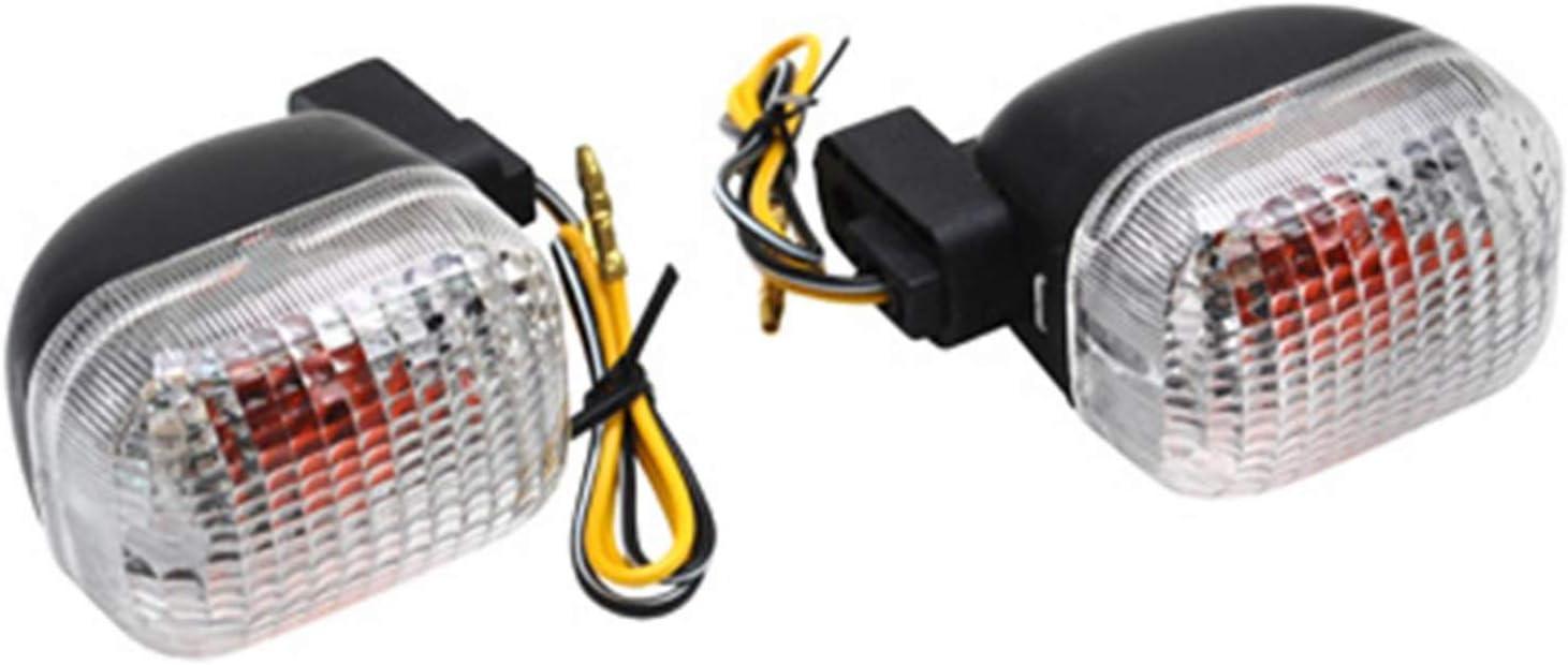 Squab AR Transparent-Noir Trekker ** -Replay Paire Motodak Clignotant Scoot Adaptable Peugeot 50 tkr