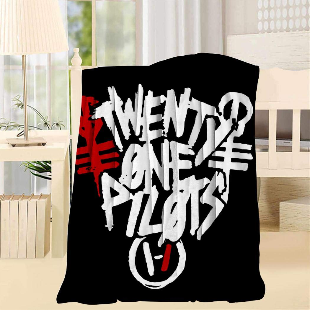 TONGXIN Top 21 Top Pilots Blanket 3D Super Soft Throw Blanket for Sofa/Chair/Bed for Room Decorative