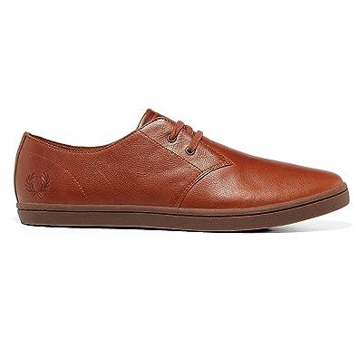 Freies Verschiffen Sast Byron Low Tumbled Leather in Tan 7 UK Fred Perry Freies Verschiffen Ausgezeichnet WBxv36