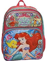 Disney Girls The Little Mermaid Ariel 16 School Backpack