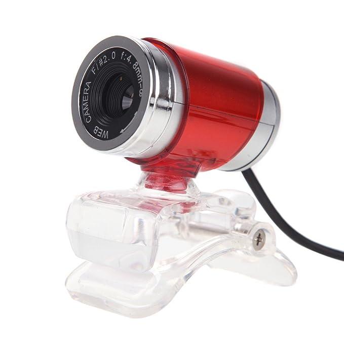 GAX Webcam USB, 480P Cámara De Alta Definición, 12 Millones ...