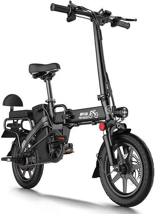 ZBB Bicicletas eléctricas, con Pedales Batería extraíble de Iones ...