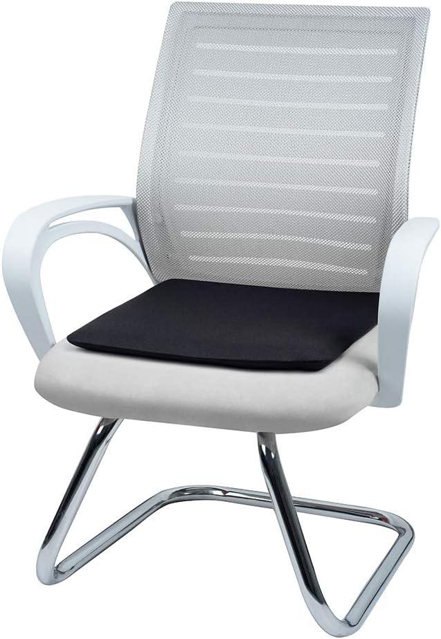 Square Basics Memory Foam Seat Cushion Black
