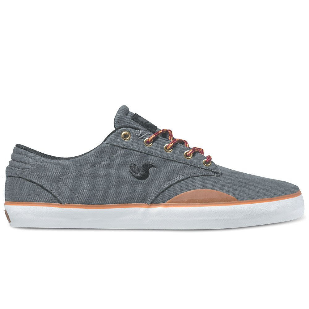 Low Price DVS Daewon 14 Skateboard Shoes Grey Canvas 021 11 5