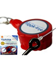Hook-Eze New Larger Model Reef & Blue Water - Hook Tying & Safety Device + Line Cutter - Cover Hooks on 2 Rods & Travel Safely Fully Rigged. Multi Function Fishing Device.