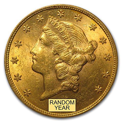 (1850-1907 $20 Liberty Gold Double Eagle BU (Random Year) G$20 Brilliant)
