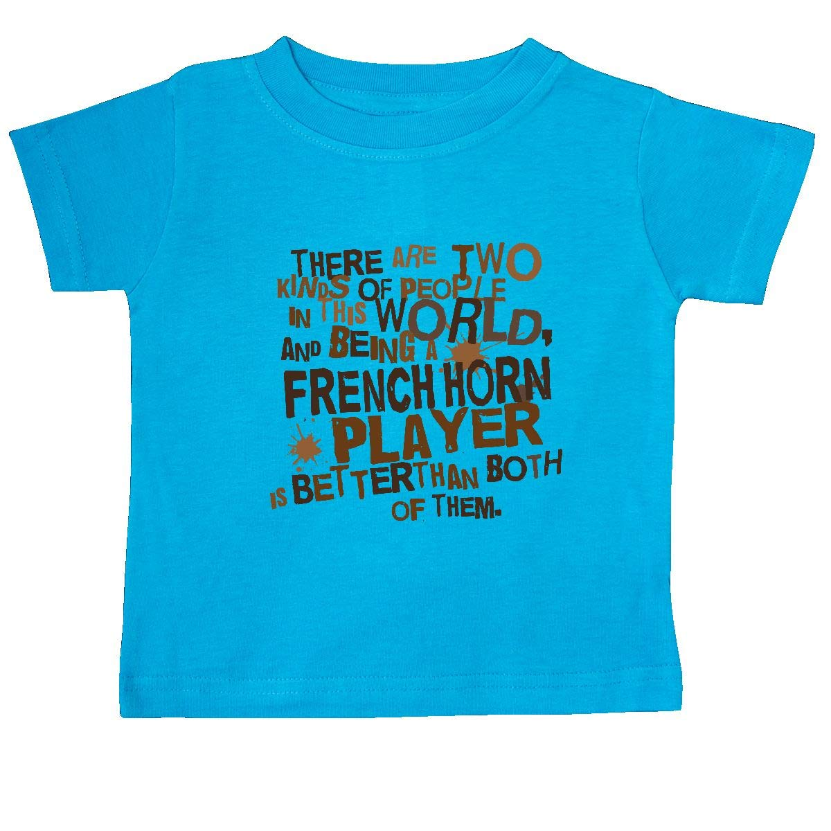 inktastic French Horn Player Funny Music Baby T-Shirt