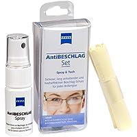 Zeiss Anti-condensset (spray 15 ml + doek), effectieve bescherming tegen beslaan, brillen-anti-condensset.