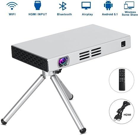 Mini proyector de vídeo, foluu DLP HD 150 ANSI portátil Cine ...