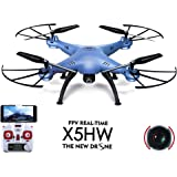 SUPER TOY New X5HW-I Drone 4CH 2.4G RC Live Video Real-time Streaming FPV WiFi Camera Quadcopter Helicopter Toy