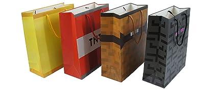 Pixel Mine Crafting Style - Bolsa de regalo (4 unidades ...