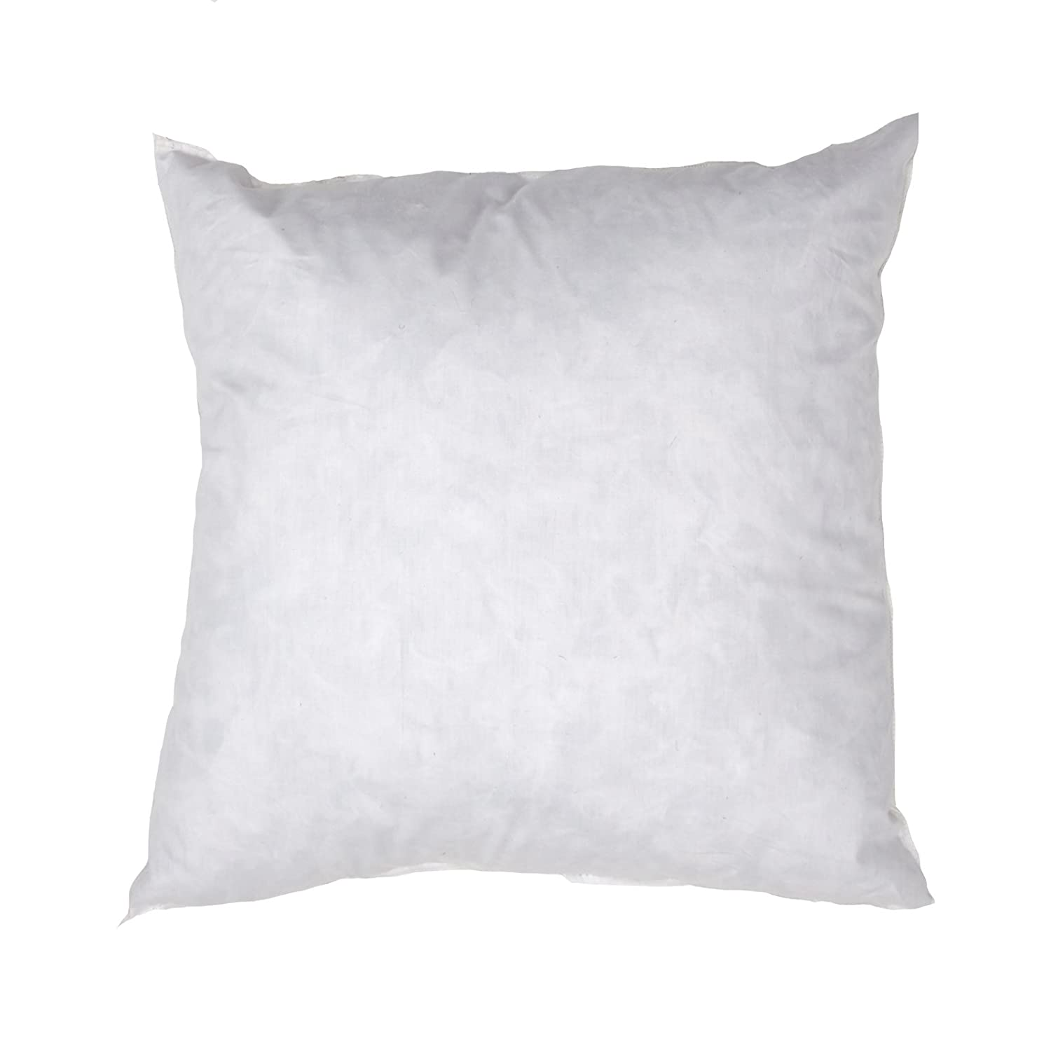 Famous Maker 14in x 14in Feather/Down Pillow Form White, White Fabric.com PIL-006
