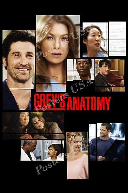 Amazon Posters Usa Greys Anatomy Tv Series Show Poster