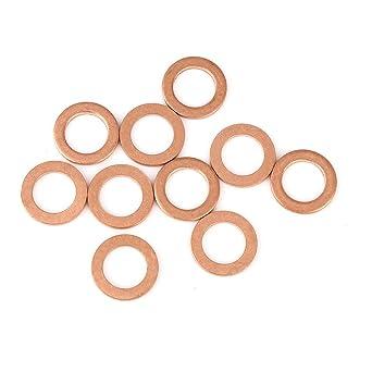 Cuivre rondelles 14mm x 22 mm x 1,5 mm-Pack de 10