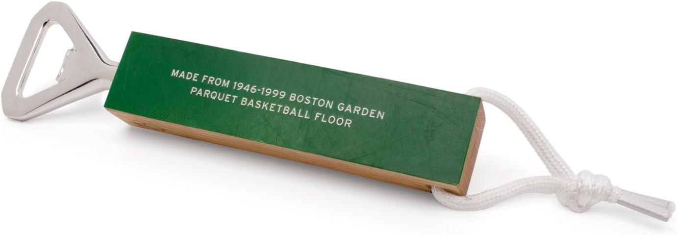 Tokens & Icons Vintage Celtics Boston Garden Arena Basketball Floor Bottle Opener (64BG)