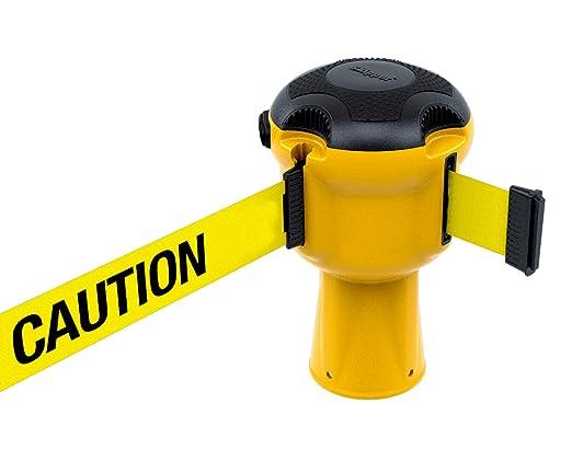 1 rollo de cinta de barricada. Cinta de precaución amarilla y ...