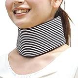 bonbone ソフト頚椎カラー コルセット フリーサイズ ボーダー