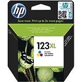 HP 123XL Tri-Color High Yield Original Inkjet Cartridge - Cyan, Magenta, Yellow
