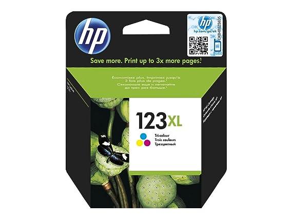 HP 123XL Tri-color ink cartridge - Cartucho de tinta para ...