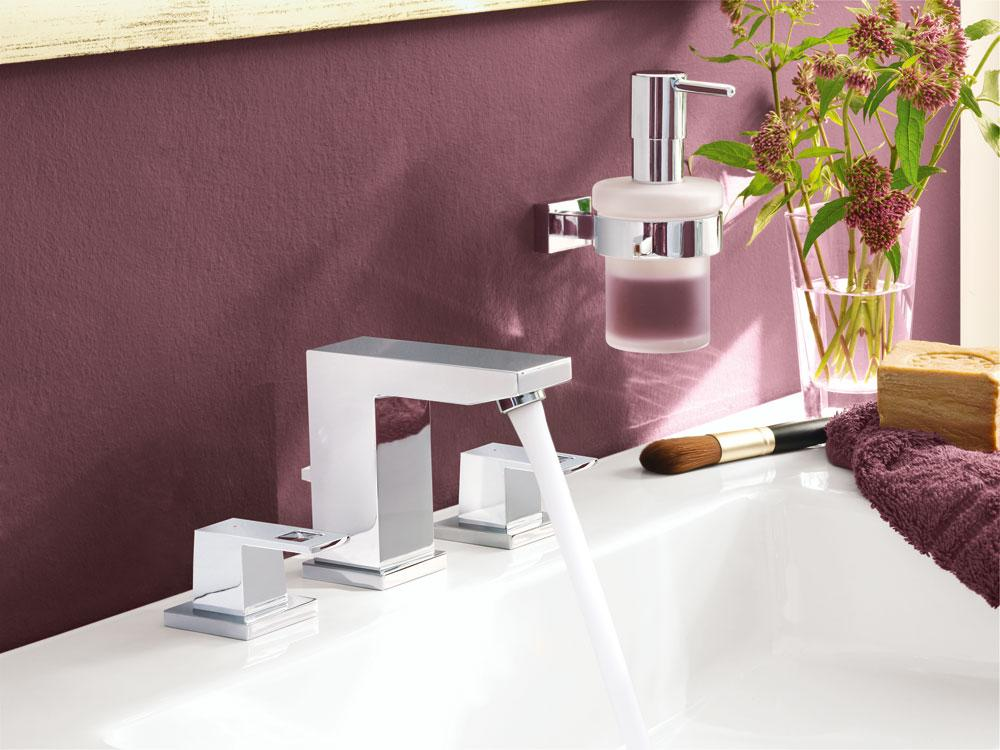 grohe eurocube wideset bathroom faucet