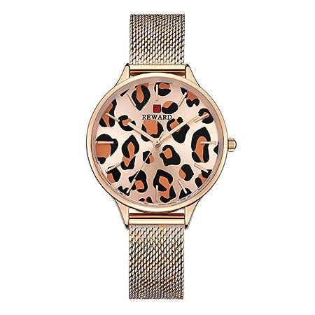 GaLon Reloj de Mujer, Reloj de Red con Reloj de Mujer con ...