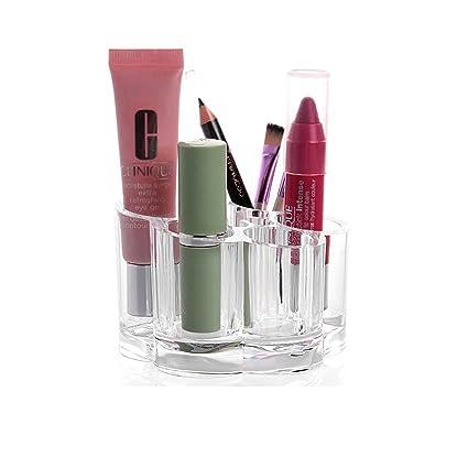 Dobo® Organizador Maquillaje Acrílico Pintalabios y lápices Ojos y pinceles de un unico Almacenamiento de