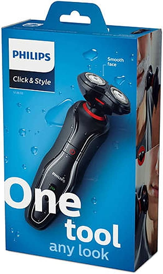 Philips Click & Style S728 One Tool Any Look Wet & Dry Shaver ...