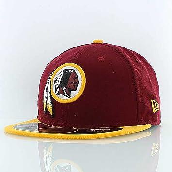 e2498b5693c A New ERA Washington Redskins NFL On Field 59FIFTY Cap