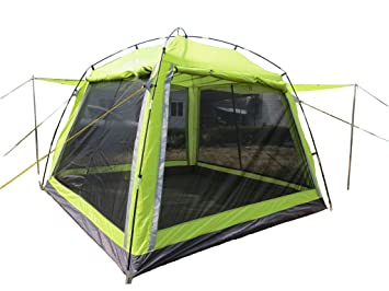 Hasika 8 x 8 Instant Screened Canopy-Green(not include outside poles)  sc 1 st  Amazon.com & Amazon.com: Hasika 8 x 8 Instant Screened Canopy-Green(not include ...