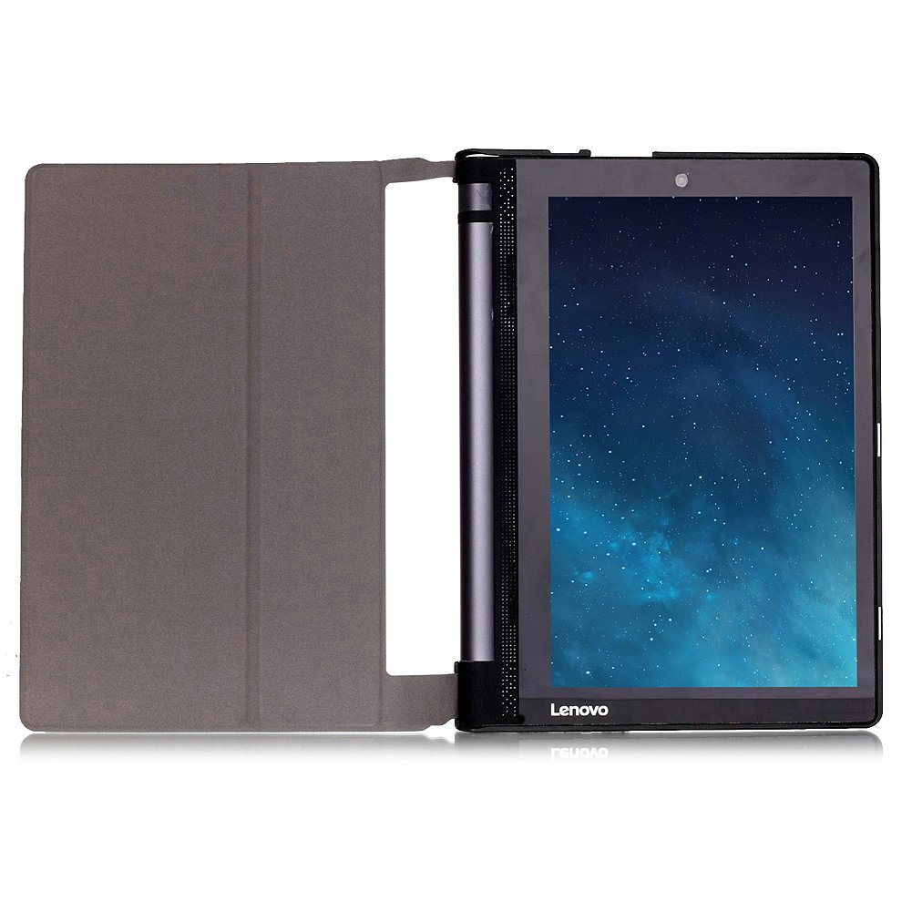 Kepuch Custer Lenovo Yoga Tab 3 10.1 X50L X50F Case - Ultra-Thin Custer PU Leather Case Shell Hard Case Cover for Lenovo Yoga Tab 3 10.1 X50L X50F - ...