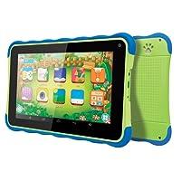 "Tablet Kids ATB 441K Verde c/ Azul, Tela 7"", Android 4.4, 1.3MP, 8GB - Amvox"