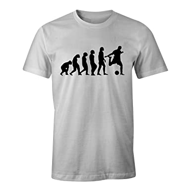 b70fed36633 Amazon.com  Evolution of Football Cool Retro Gift Boys - T-Shirt ...
