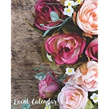 Event Calendar: Perpetual Calendar |Record All Your Important Dates |Date Keeper |Christmas Card List |For Birthdays Anniversaries & Celebrations