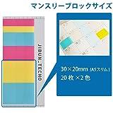 Kokuyo Jibun Techo Goods Film Sticky Notes