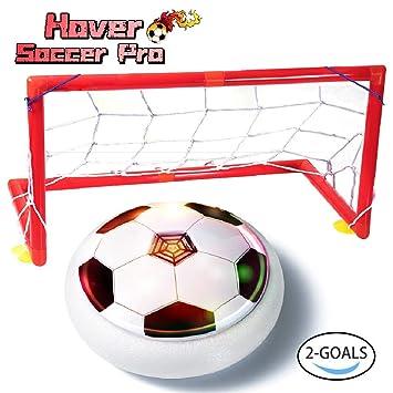 Kid Toys - Pelota de fútbol para niños con portería, con luz, con ...