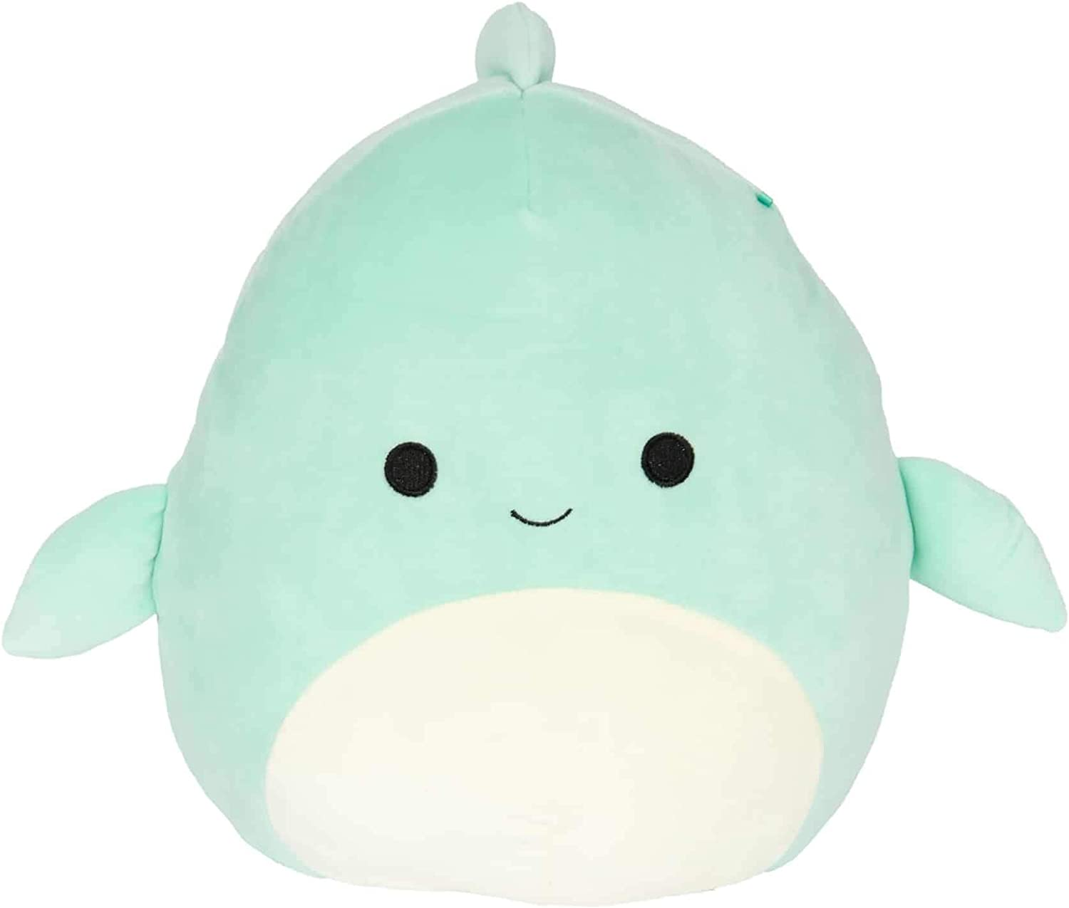 Squishmallow Kellytoy Sea Life 12 inch Perry The Dolphin- Super Soft Plush Toy Pillow Pet Animal Pillow Pal Buddy Stuffed Animal Birthday Gift Holiday