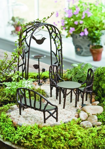 Wildewood Miniature Fairy Garden Starter Kit