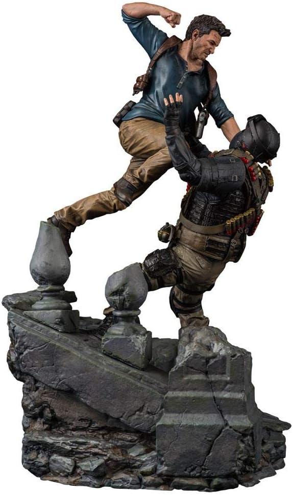 Uncharted 4 A Thiefs End Diorama 1/6 Nathan Drake 51 cm Sony Statue: Amazon.es: Juguetes y juegos