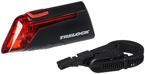 Trelock LS 320 RB - Faro Trasero LED para Bicicleta, Color Negro ...