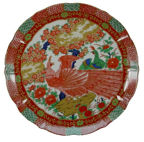 Arita China Imari Peacock Dinner Plate 10-1/4