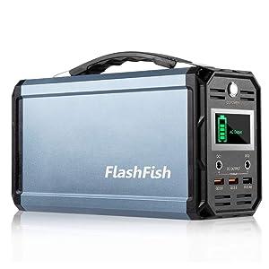 FlashFish 222Wh AC出力300W ポータブル電源