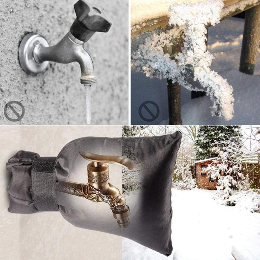 Gris Cubierta Exterior para Grifer/ía Calcetine Protecci/ón Contra Congelamiento Accesorios Funda
