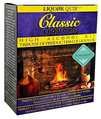 (Liquor Quik Classic Liquors One Gallon High Alcohol Kit (Peppermint Schnapps))